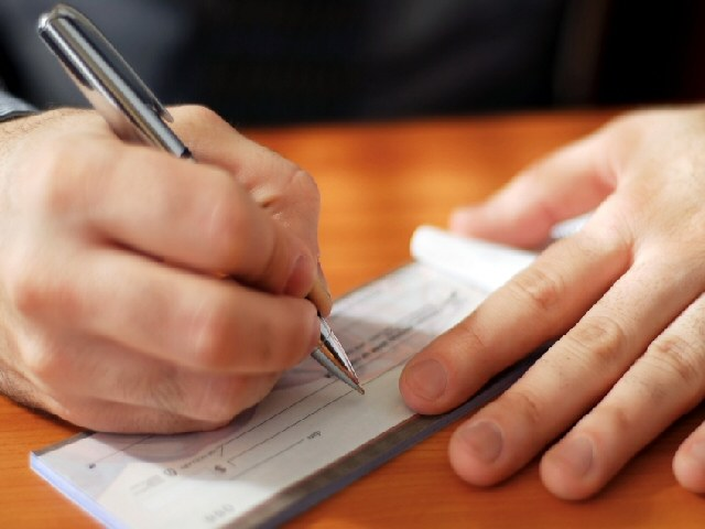 How to account for the checkbook