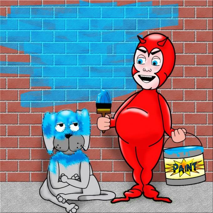 Как установить граффити
