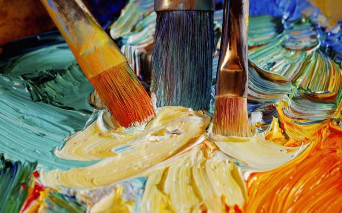 Как начать рисовать маслом