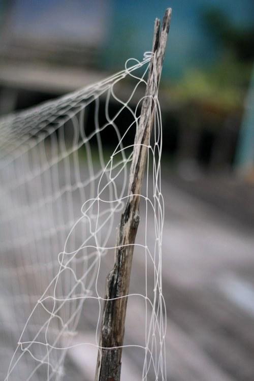 Как вязать сеть одним узлом