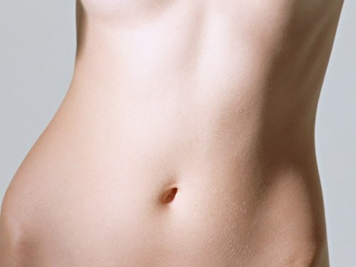 How to get rid of the stripes on the abdomen