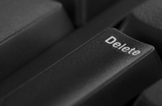 Как удалить свои данные с сайта