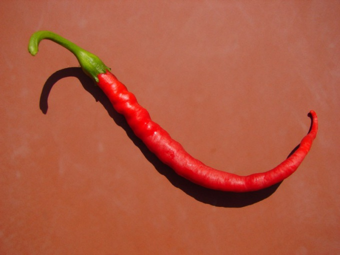 How to apply red pepper