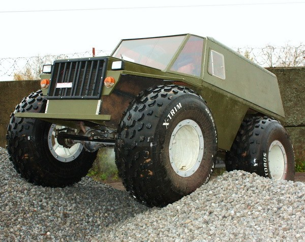 How to make a UAZ all-terrain vehicle