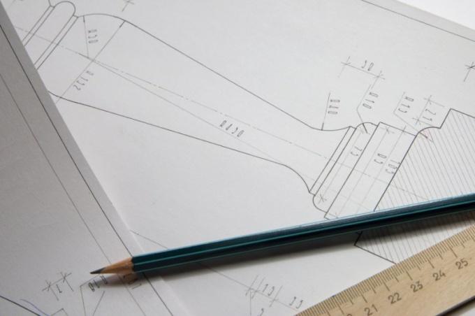 Как чертить разрез