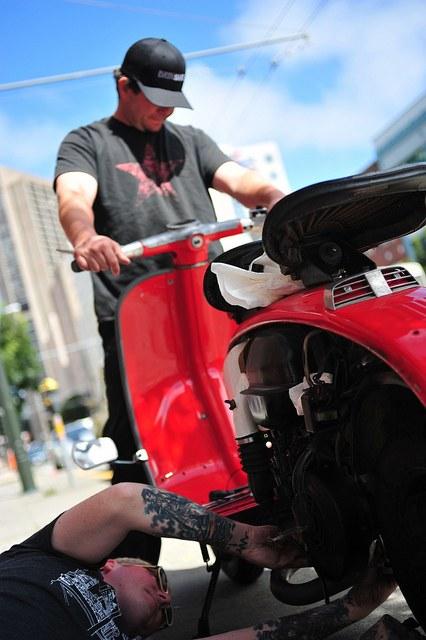 Как ремонтировать скутеры