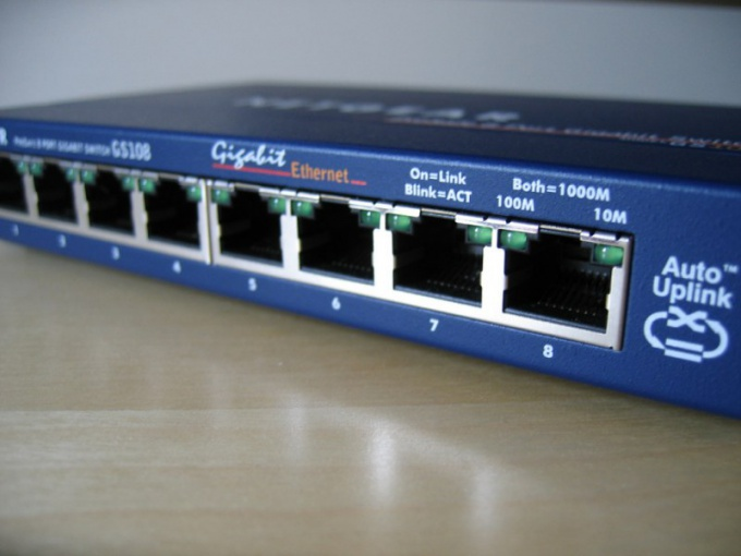 How to combine two computers into the network through a router