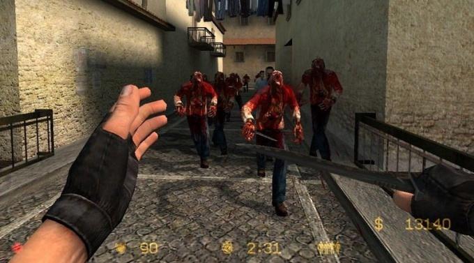 Как установить зомби мод на сервер
