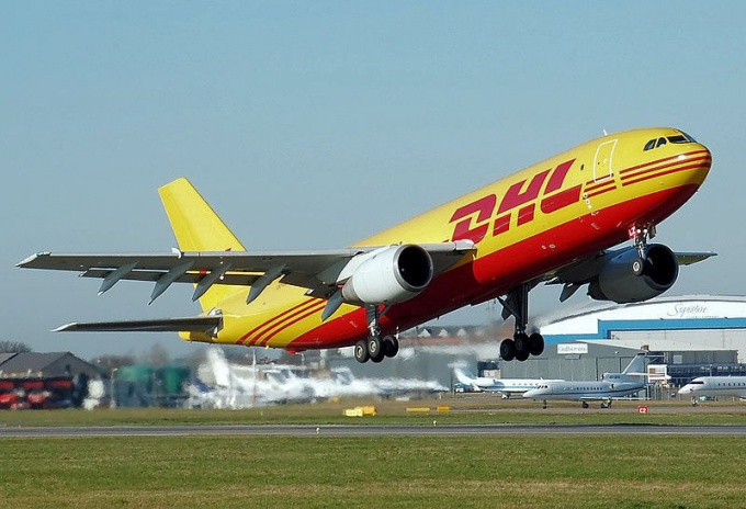 How to send a letter by dhl