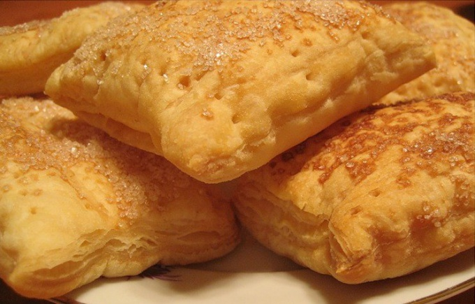 How to bake puff reeds