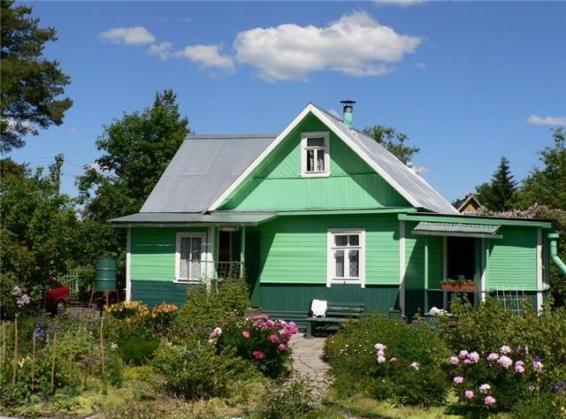 How to buy a house in the village cheap