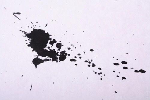 Как избавиться от чернильного пятнышка