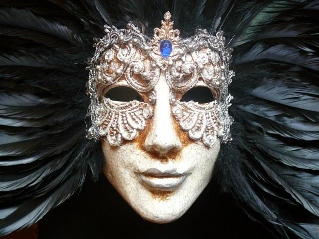 Как нарисовать карнавальную маску