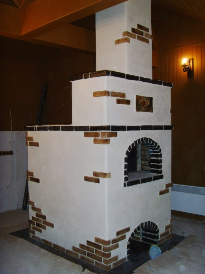 How to plaster an oven