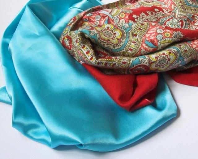 шёлковые платки фото