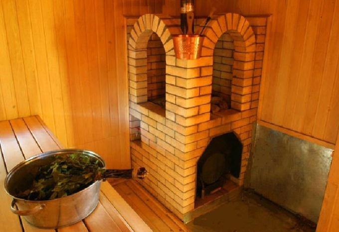 Как обложить железную печь кирпичом