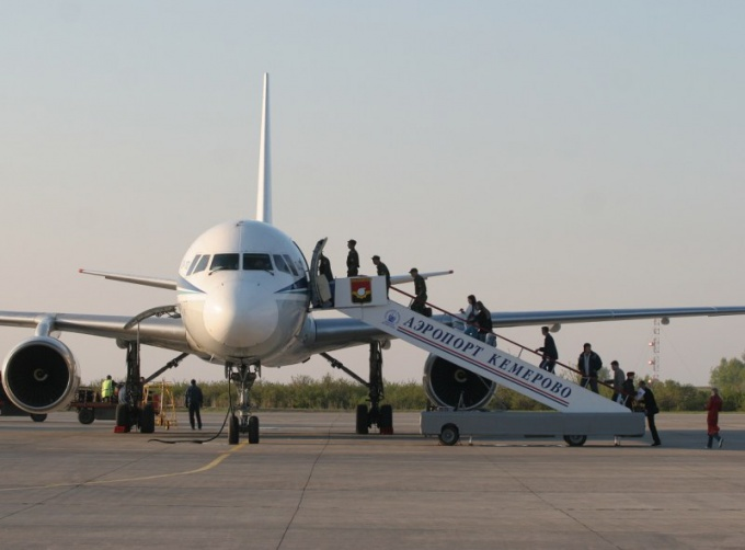 How to fly to Kemerovo