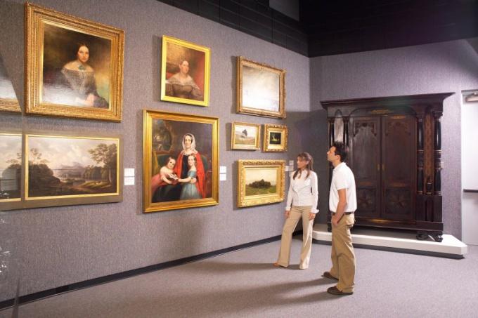 Как открыть картинную галерею