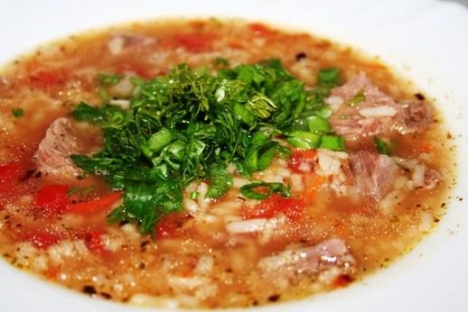 How to make soup kharcho
