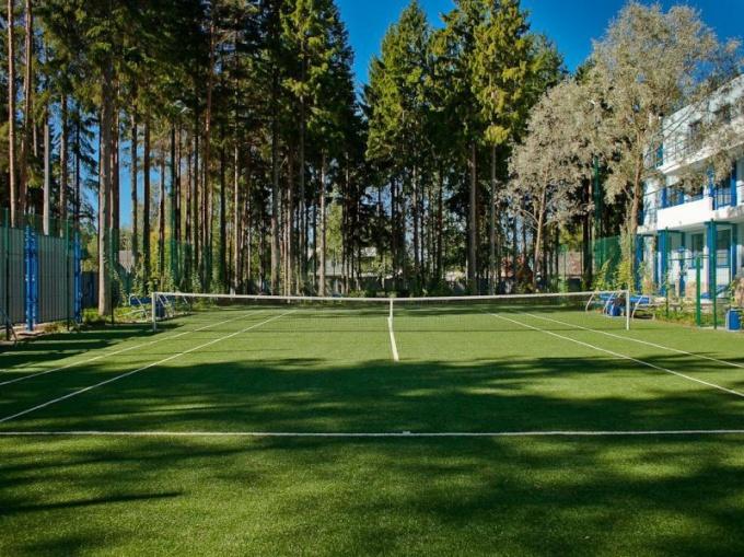 Как построить теннисный корт