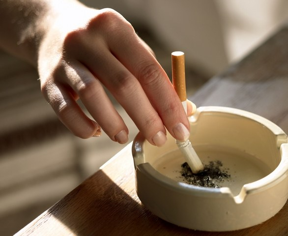 How to get rid of nicotine in the lungs