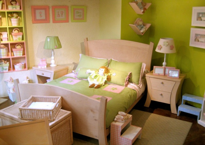 How to arrange a room for a child's birthday
