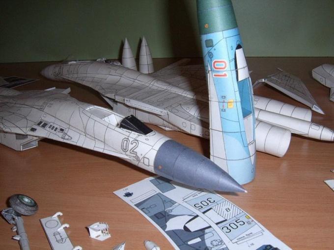 Как делать бумажные модели