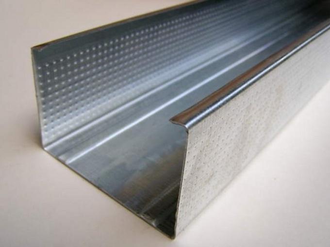 Как закрепить металлопрофиль