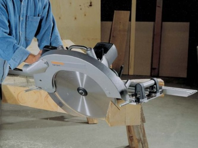 How to cut laminated particle Board