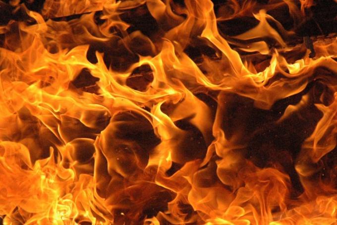 Как нарисовать пламя в фотошопе