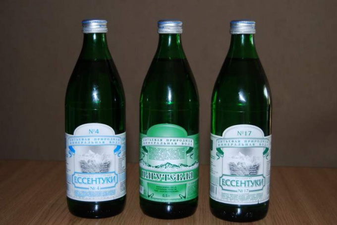 "How to drink mineral water ""Essentuki"""