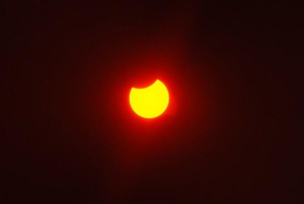 Почему происходит солнечное затмение