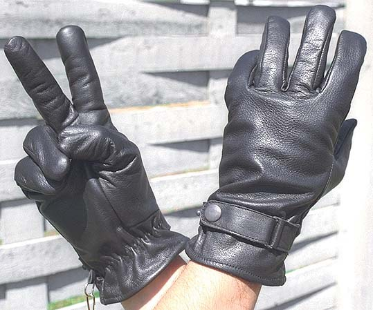 How to sew leather gloves