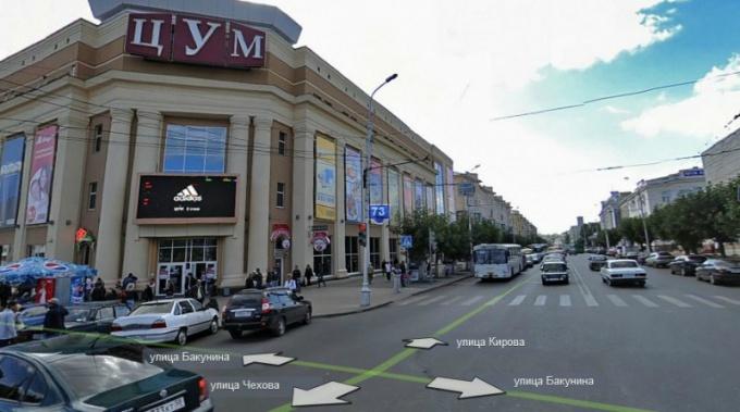 Как найти улицу в Пензе
