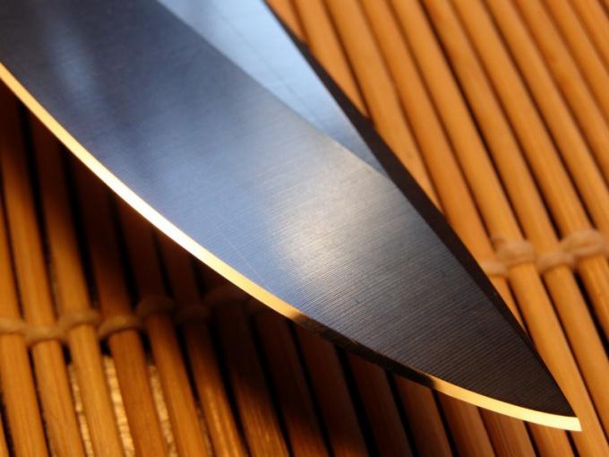 Как точить охотничьи ножи