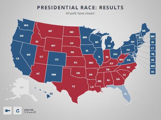 Кто победил на выборах в США 2012