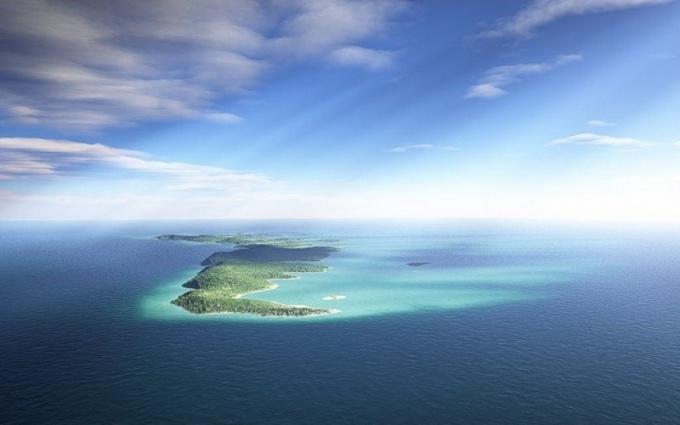 Можно ли купить остров в океане