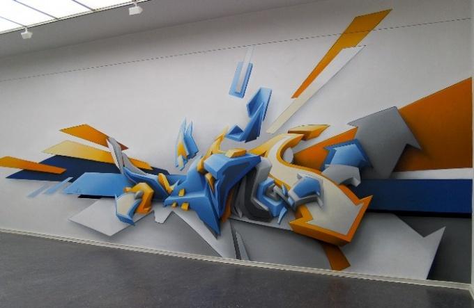 Как научиться рисовать граффити на листе