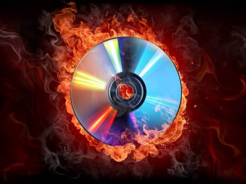 How to burn a disc in DVD-video format