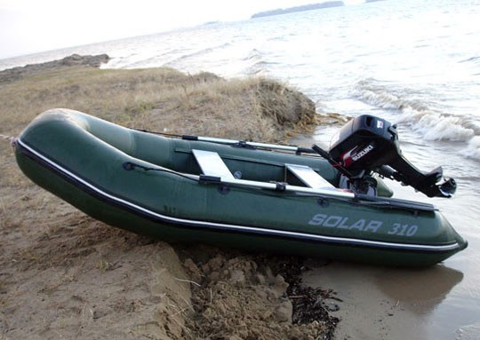 How to choose inflatable boat PVC