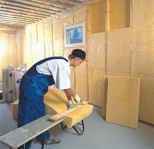 How to insulate a brick house from the inside
