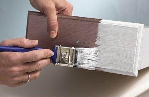 Как перекрасить полированную мебель