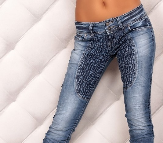 How to distinguish the real from the fake jeans