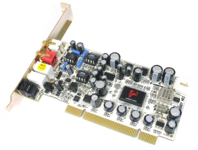 How to find sound card on computer