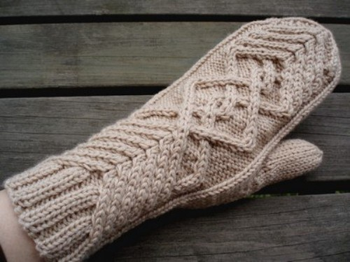 How to knit mittens knitting