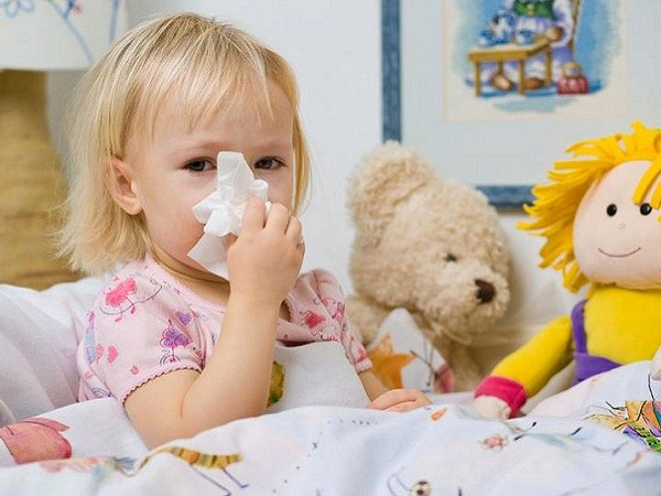 How to cure a cold baby is two years old