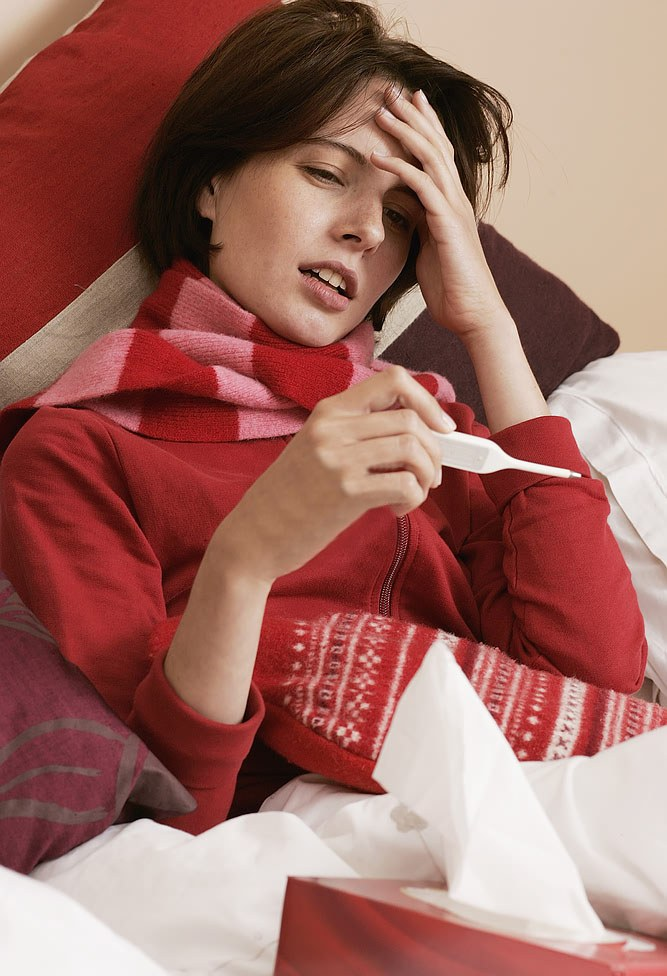 Как лечить грипп при лактации