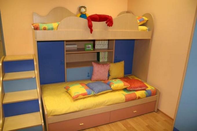 Как обустроить детскую в однокомнатной квартире