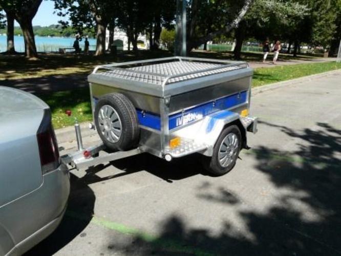 How to make a trailer for passenger car