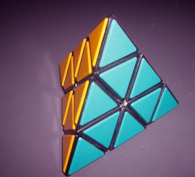 Как собрать треугольник